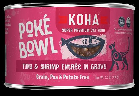KOHA CAT POKE BOWL TUNA & SHRIMP