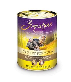 ZIGNATURE TURKEY CAN FORMULA 13OZ