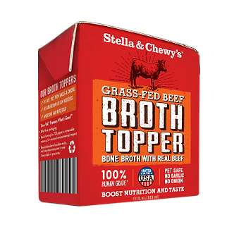 STELLA & CHEWY'S GRASS FED BEEF BROTH TOPPER