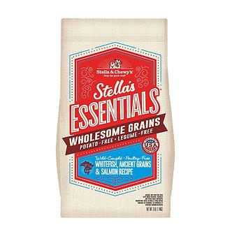 STELLA & CHEWY'S ESSENTIALS WHITEFISH & SALMON