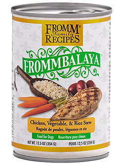 FROMM FROMMBALAYA CHICKEN, VEGETABLE, & RICE STEW