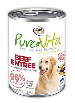 PURE VITA CANNED BEEF ENTREE 13OZ