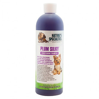 NATURE'S SPECIALTIES PLUM SILKY SHAMPOO 16OZ