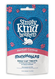 SIMPLY KIND HEARTED MUNCHABLES HAIRBALL CONTROL