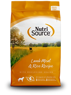 NUTRISOURCE LAMB MEAL & RICE