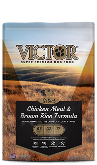 VICTOR CHICKEN MEAL & BROWN RICE 40LB