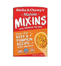 STELLA & CHEWY'S MIX-INS BEEF & PUMPKIN