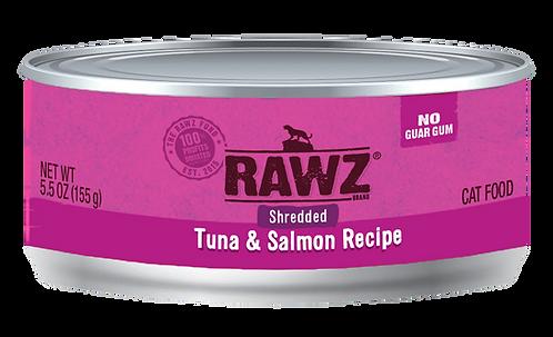 RAWZ CAT SHREDDED TUNA & SALMON RECIPE 3OZ