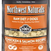 NORTHWEST NATURALS FROZEN RAW CHICKEN & SALMON NUGGETS 6LB