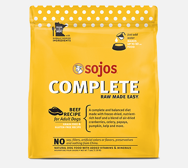 SOJOS COMPLETE FREEZE DRIED BEEF