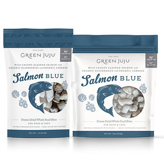 GREEN JUJU FREEZE DRIED WHOLE FOOD SALMON BITES