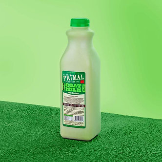 PRIMAL FROZEN GREEN GOODNESS GOAT'S MILK 32OZ