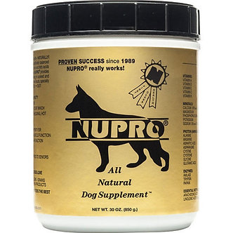 NUPRO GOLD ALL NATURAL SUPPLEMENT 30OZ