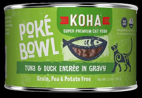 KOHA CAT POKE BOWL TUNA & DUCK