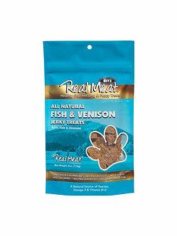 REAL MEAT FISH & VENISON TREATS
