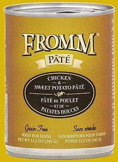 FROMM GF CHICKEN & SWEET POTATO PATE' 12.2OZ