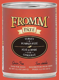 FROMM GF TURKEY & PUMPKIN PATE' 12.2OZ