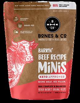 BONES & CO. FROZEN BEEF MINI'S