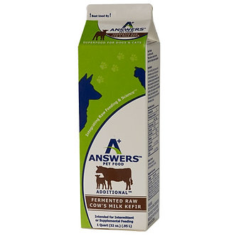 ANSWERS COW KEFIR QUART