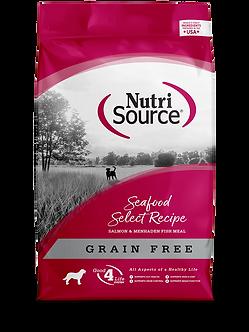 NUTRISOURCE GRAIN FREE SEAFOOD SELECT