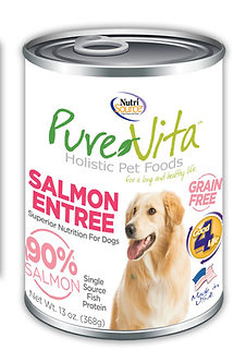 PURE VITA CANNED SALMON ENTREE 13OZ