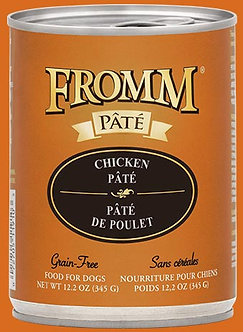 FROMM GF CHICKEN PATE' 12.2OZ
