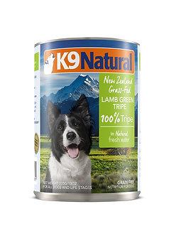 K9 NATURAL LAMB GREEN TRIPE CAN 13OZ