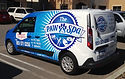 The Paw Spa Home Delivery Van