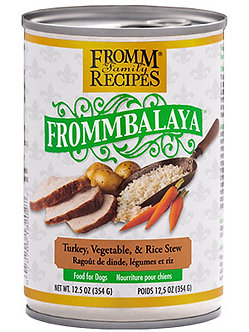 FROMM FROMMBALAYA TURKEY, VEGETABLE, & RICE STEW