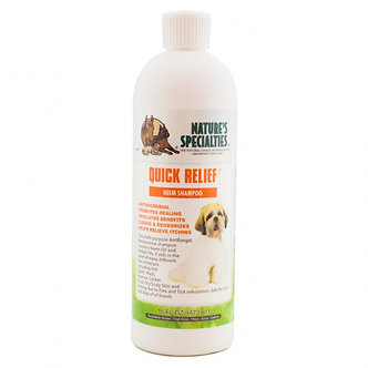 NATURE'S SPECIALTIE QUICK RELIEF NEEM SHAMPOO 16OZ