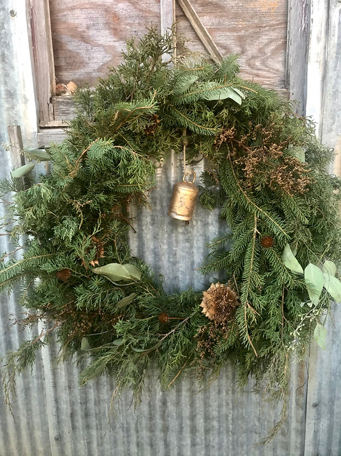 """""""The Natural"""" Wreath"""