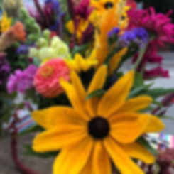 Last call for flowers!  I'm here at the