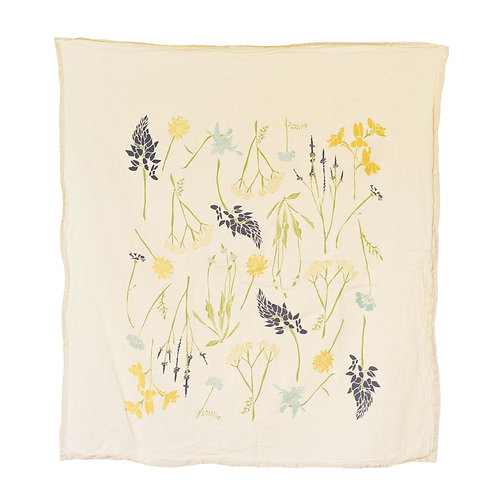 Northern Wildflowers Tea Towel