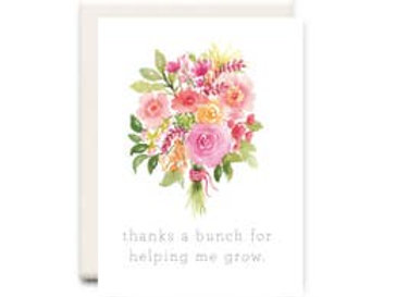 Helping Me Grow: Mother's Day Card