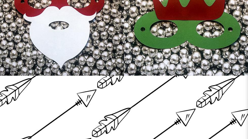Mask It Kit 2 Pack - Santa/Elf