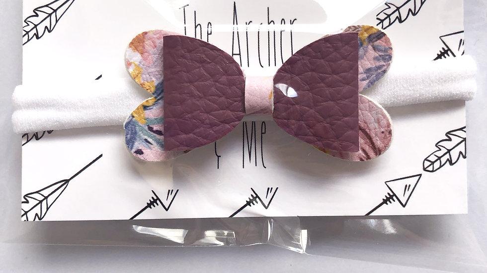Baby Blossom Bow - Grape/Hawaii - Headband