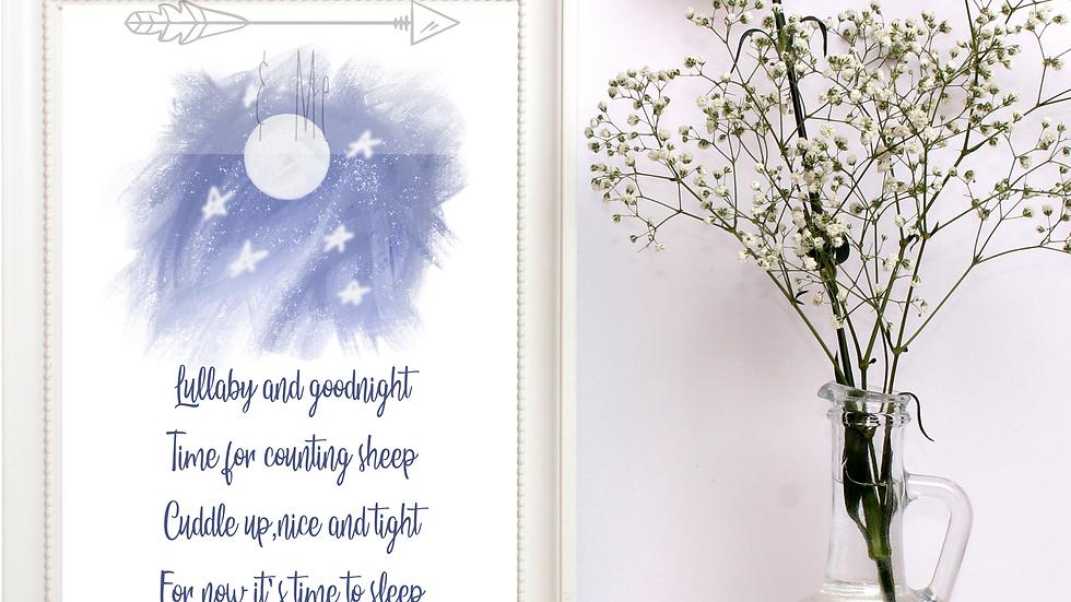 Lullaby Print