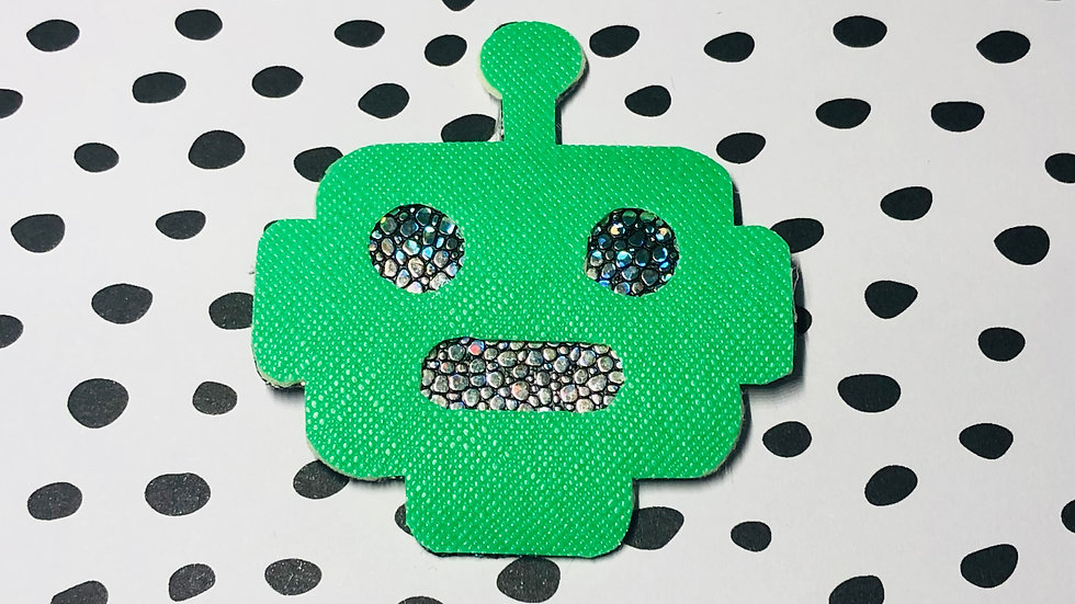Roscoe Robot Badge