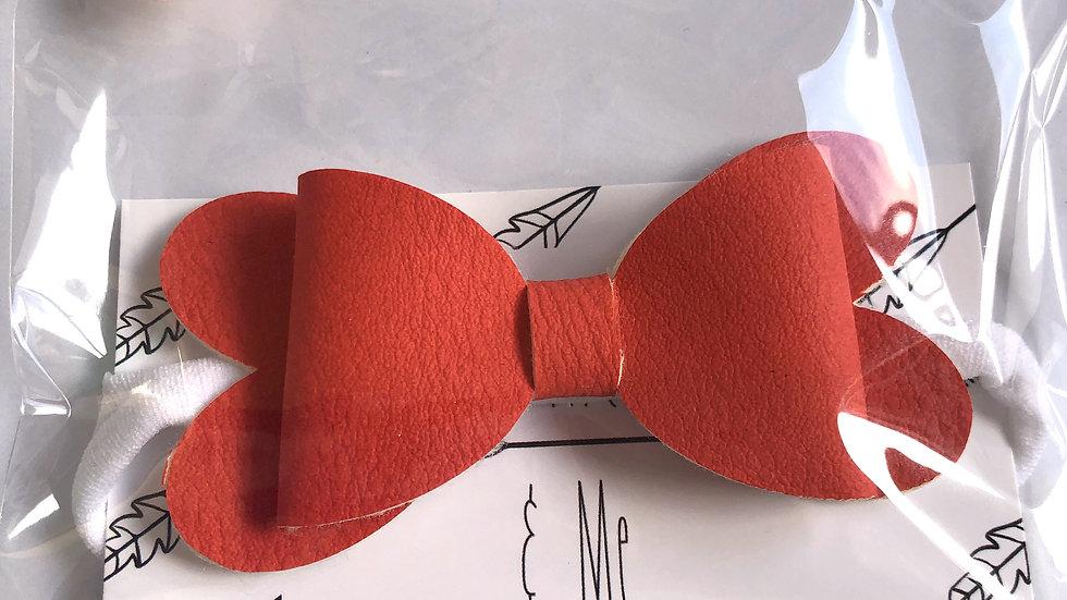 Blossom Bow - Red - Headband
