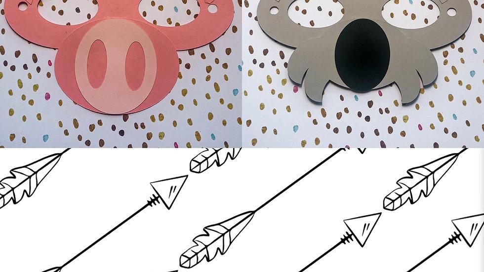Mask It Kit 2 Pack - Piggy/Koala