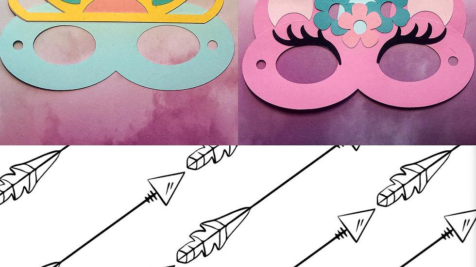 Mask It Kit 2 Pack - Princess/Unicorn