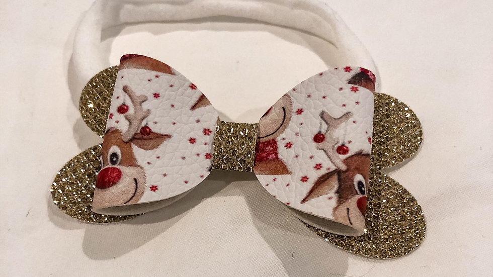 Blossom Bow - Rudolf/Gold - Headband