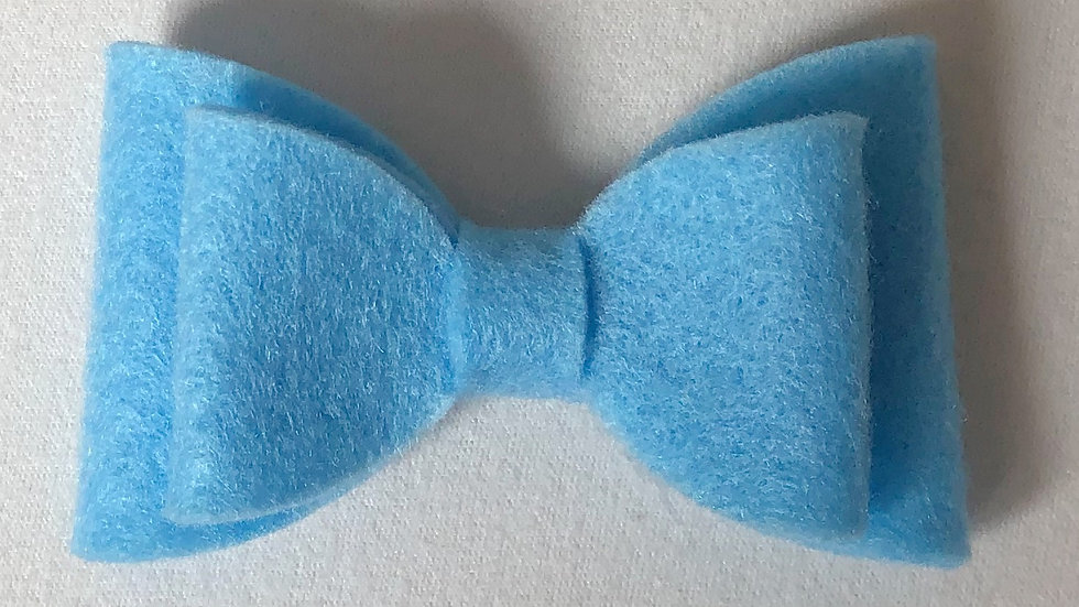 Abby Bow - Sky Blue - Clip