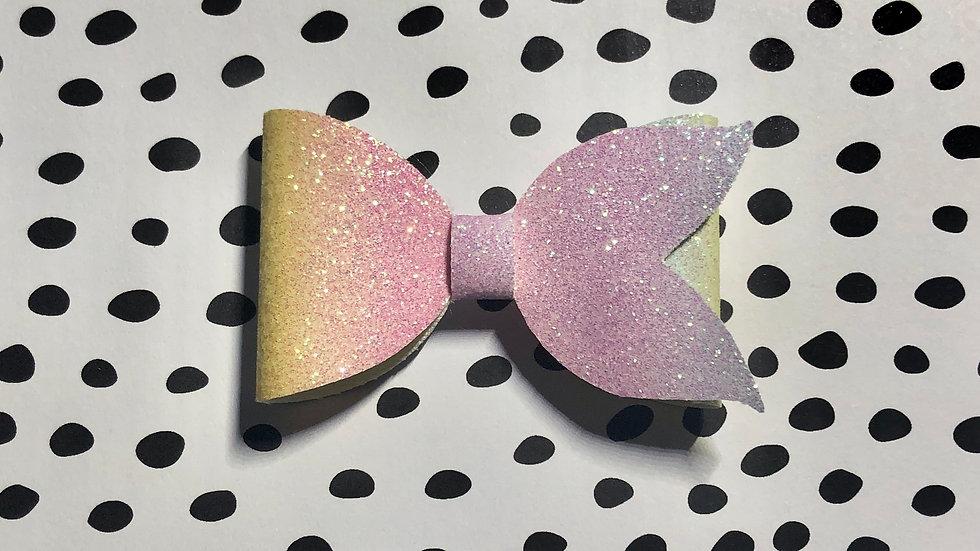 Cora Bow - Rainbow Clip