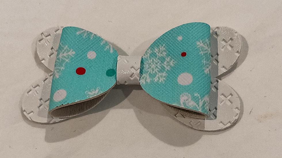 Blossom Bow - Snow/White - Clip