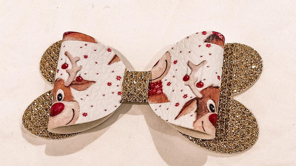 Blossom Bow - Rudolf/Gold - Clip