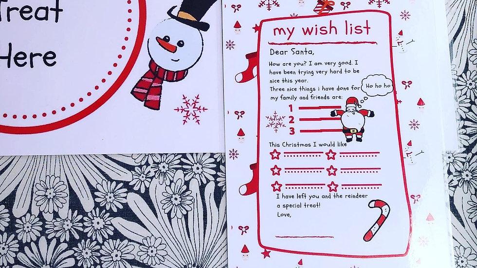 Wish List - Red