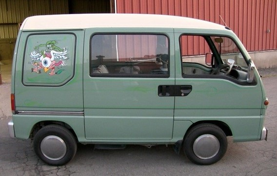 Greg (COOP) Cooper's 1994 Micro Van