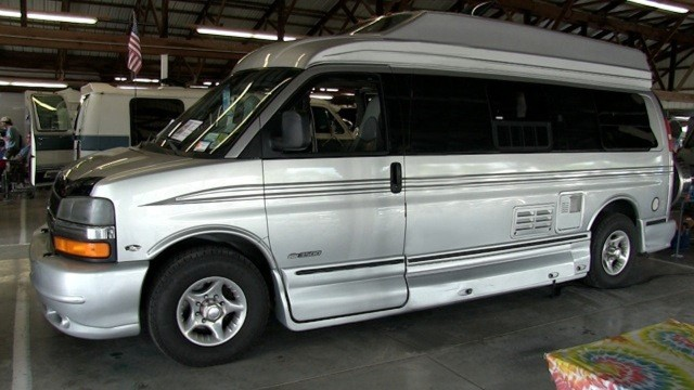 Mary Davis' 2004 Chevy Express Van
