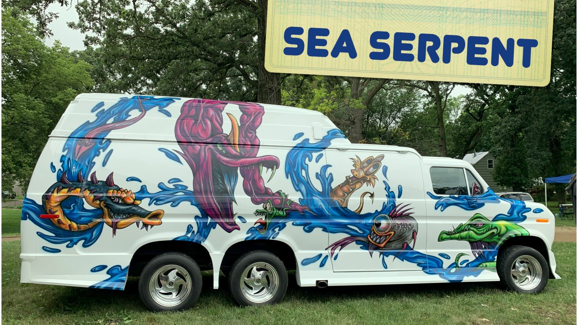 Robin Shaw's1976 Sea Surpent